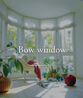 Bow window